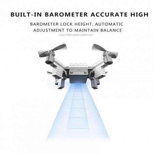 SMRC M3 Blocks DIY Camera Drone - FPV Camera, 6 Axis Gyro, Android + iOS App, Headless Mode, 3D Flip