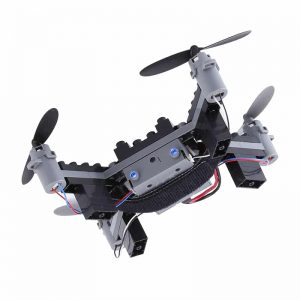 SMRC M3 Blocks DIY Camera Drone – FPV Camera, 6 Axis Gyro, Android + iOS App, Headless Mode, 3D Flip 5