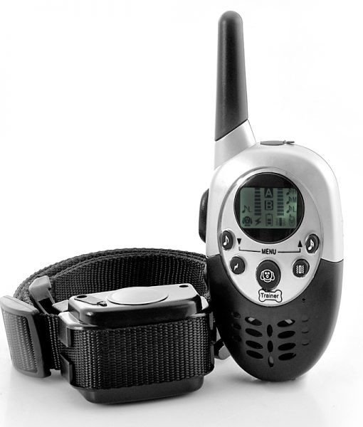 Dog Training Collar 'K9 II' - Vibration + Shock Selectable, 3 Shock Levels, Remote Control, 1000 Meter Range