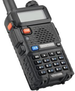 Baofeng UV 5R  Walkie Talkie - Wide Frequency Range, FM Radio, LED Torch, 5 To 10km Range, Long Standby, 1800mAh Battery