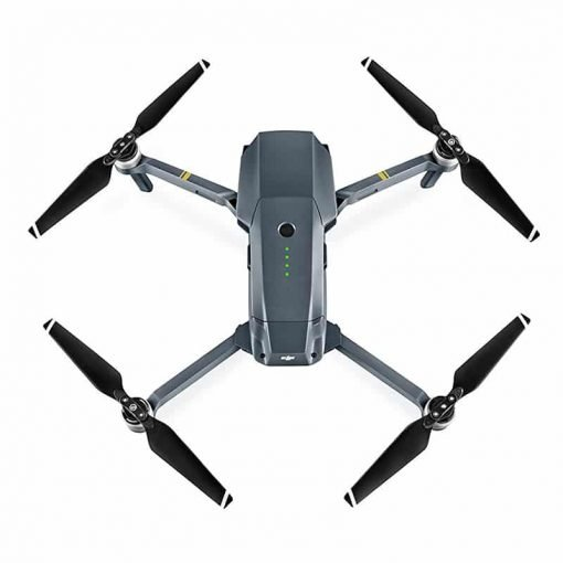 DJI Mavic Pro Camera Drone - GPS/GLONASS, Folding, 4 Mile Range, 4K Camera, 27Min Flight Time, 65Kmh, FPV