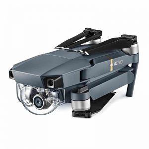 DJI Mavic Pro Camera Drone – GPS/GLONASS, Folding, 4 Mile Range, 4K Camera, 27Min Flight Time, 65Kmh, FPV 4