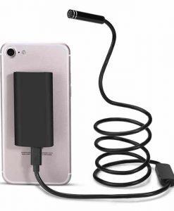3M Wireless Endoscope - IP67, 6 LED Lights, 720p, 30 Meter WiFi Range, iOS Android + Windows Support, 600mAh
