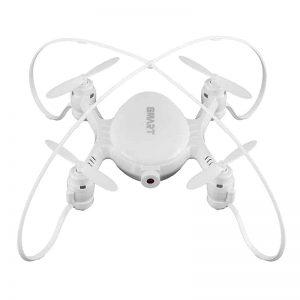 Mini Drone SMAO M7S - 100m Control Distance, FPV, 0.3MP Camera, WiFi, 380mAh Battery (White)