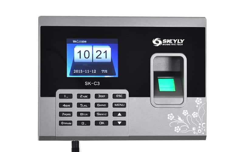 Fingerprint Time Attendance System - 2.8 Inch 320x240 Display, 150000 Record Capacity