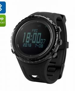 Sunroad FR803 Smart Watch - Bluetooth, 5 ATM Waterproof, Digital LED Backlight, Swiss Sensors, Altimeter, Barometer, Compass