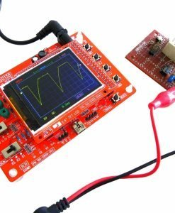 Handheld Oscilloscope - DIY Kit, 1 Channel, 0 - 200KHz Bandwidth, 50Vpk Input Voltage, 2.4 Inch Color Display, Open Source Code