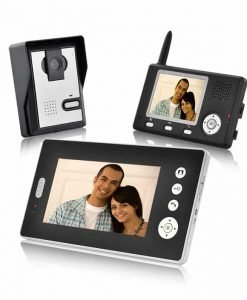 Double Vision Guardian - Wireless Video Door Phone with Dual Receivers (CMOS Sensor)