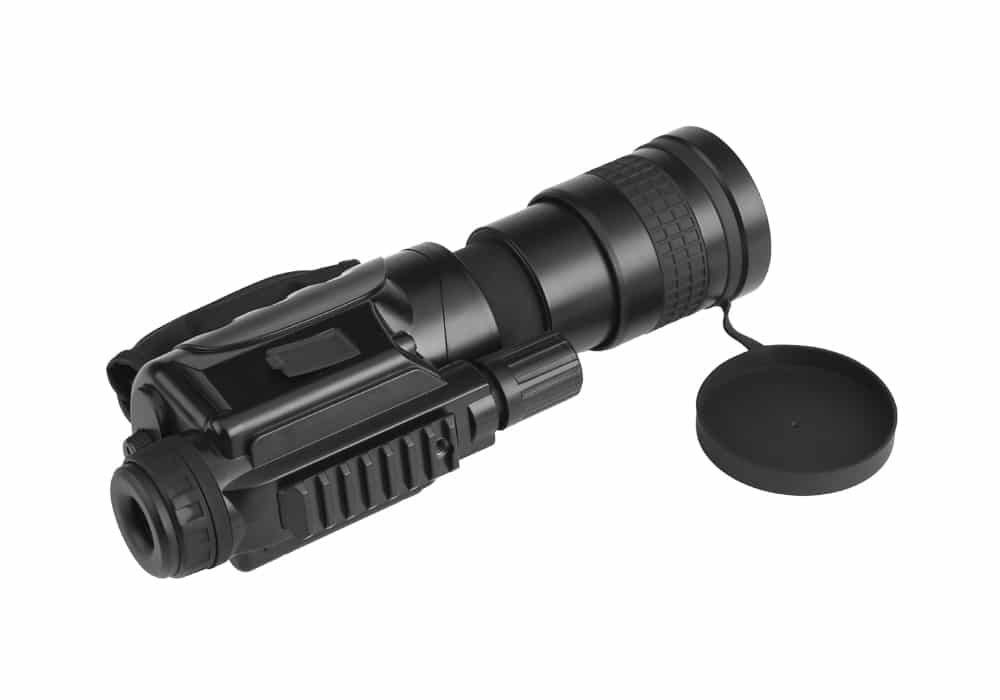 Night Vision Monocular - 7x Zoom, 1000m Detection Range, Weatherproof, Built-in Camera, 16GB External Memory, CCD Sensor