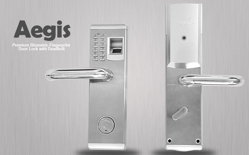 Premium Biometric Fingerprint Door Lock with Deadbolt \