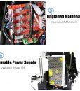 Anet A8 3D Printer Prusa i3 DIY Kit – Multiple Filament Types, Large Printing Volume, 0