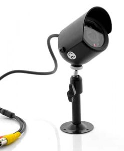 "Mini Video Security Camera ""Dark Wolf"" - Nightvision, Weatherproof, PAL"