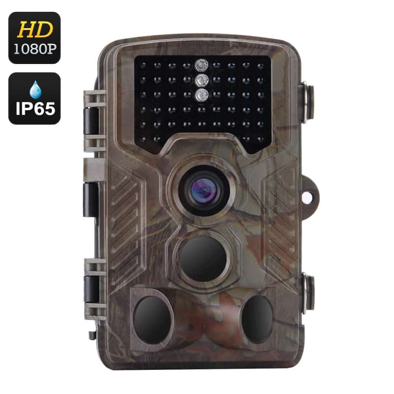 Full HD Game Camera - 1080P Video, 1/3 Inch CMOS, 16 Month Standby, 0.6 Second Trigger Time, 2.5 Inch Display, IP65