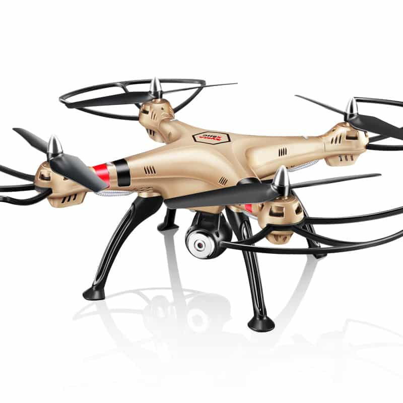 SYMA X8HW FPV Quad Copter - 6-Axis Flight Control, 3D Flip, Headless Mode, Auto Hovering, 1MP Camera, Wi-Fi