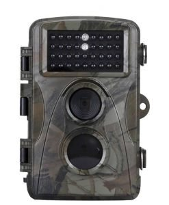 720P HD Trail Camera - 5MP CMOS Sensor, 20 Meter IR Flash, 20M PIR Sensor, 0.6 Sec Trigger, HD Video, 12 Month Standby