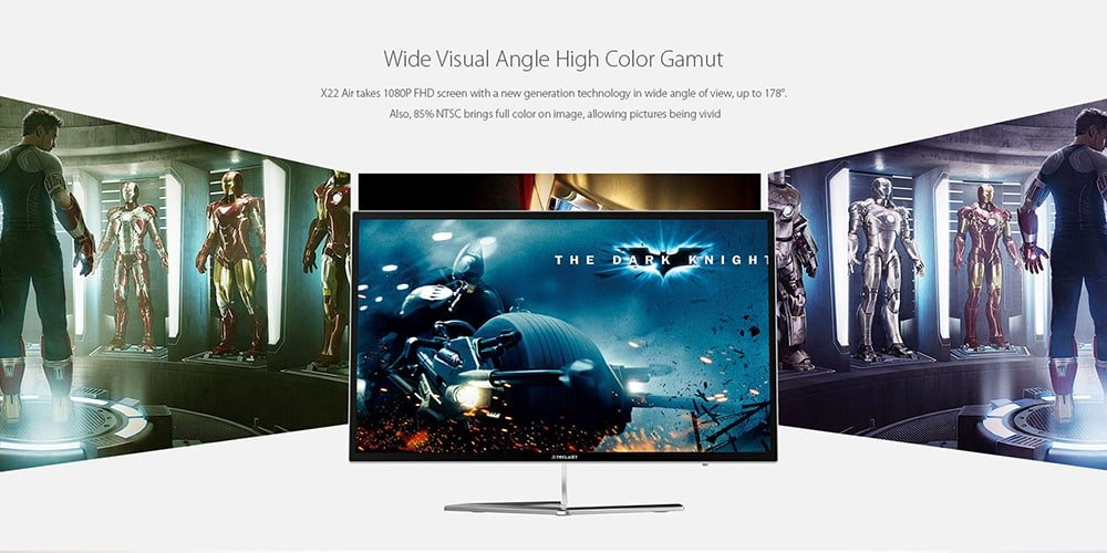 Teclast X22 Air All-In-One PC - 21.5 Inch FHD Display, Intel Celeron CPU, 4GB RAM, Intel HD Graphics, HDMI, SPDIF, WLAN, USB 3.0
