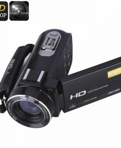 Ordro Z20 Wi-Fi Digital Video Camera - 1/4 Inch 8MP CMOS Sensor, 1080p Video, 24 MP Photos, 16x Digital Zoom, Anti-Shake