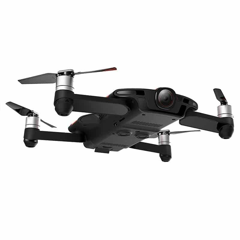 Wingsland S6 Premium Drone - 4 Flight Modes, Foldable Design, Home Return Key, 4K Camera, Wi-Fi, FPV (Black)