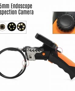 5.5mm Endoscope Inspection Camera - 1 Meter Long, 1/3 Inch CMOS Sensor, 720P Video, 3.5 Inch Monitor, DVR