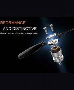Wingsland S6 Premium Drone - 4K Camera, Foldable Design, Wi-Fi, FPV, Home Return Key, 4 Flight Modes (Orange)