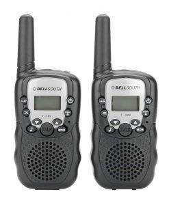 Walkie Talkie - 5 To 8KM Range, 22 USA Channels, 8 Europe Channels, Flash Light, Battery Indicator, Keypad Lock