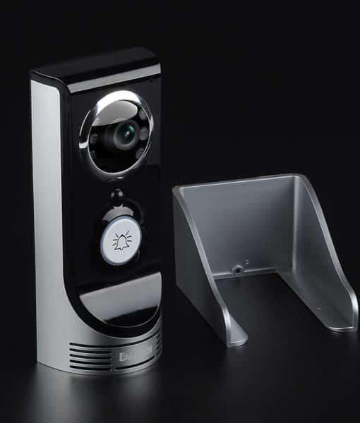 Wi-Fi Video Door Intercom And Door Bell - 1/3 Inch CMOS, APP Support, Motion Detection, Night Vision, Weatherproof