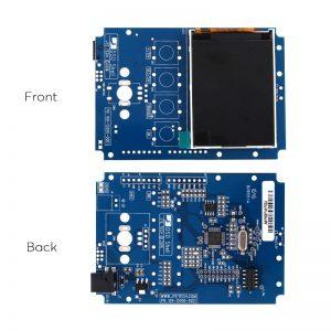 DIY Oscilloscope Kit 15001K - 1Msps, 2.4 inch TFT LCD, 20mV/Div to 5V/Div Sensitivity, 200KHz Bandwidth