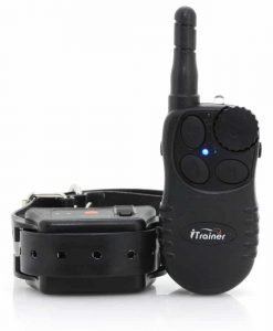 Remote Dog Trainer Collar with Receiver - Vibration, Shock + Noise Design