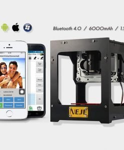 NEJE DK - BL 1500mw Laser Engraver - 6000mAh Battery, Windows, iOS, Android Support, 550x550p Image Size