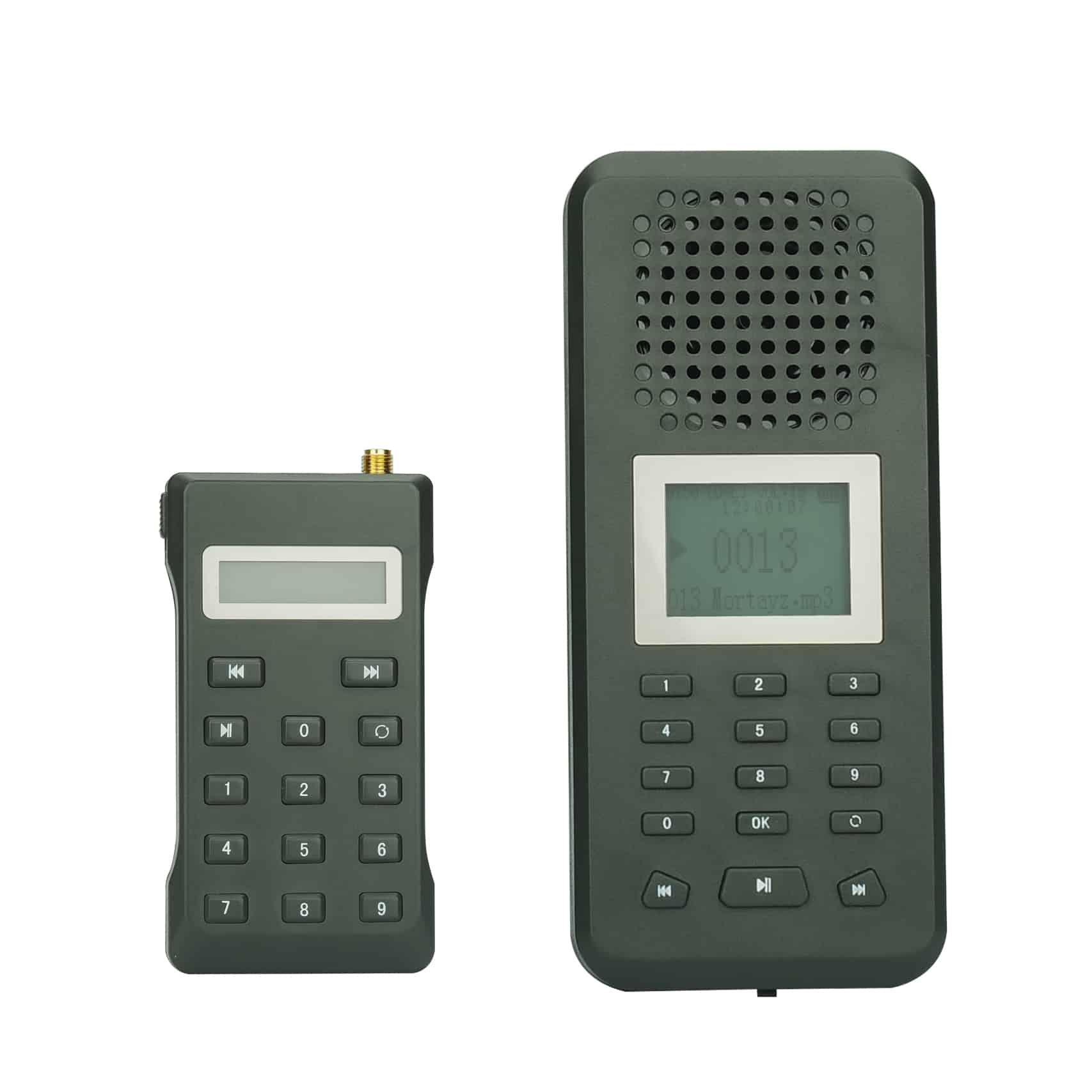 Digital Hunting Bird Caller - Remote Control, Built-in 20W Speaker, 2200mAh Lithium Battery, 150 Built-In Bird Sounds