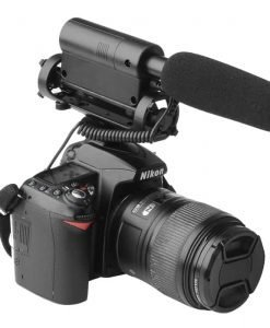 TAKSTAR SGC-598 Interview Microphone for Nikon/Canon Camera/DV Camcorder - +10dB Enhancement, 200Hz Attenuation.