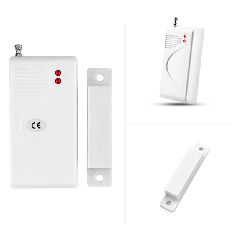 Home Security System - PIR Sensors, Gas Detector, Smoke Detector, Door And Window Sensors, iOS and Android Apps, Remote Control