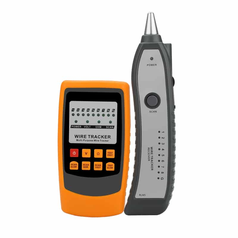 Handheld Wire Tracker And Tester - Cable Tracing, Testing, Shorts Detection, Voltage Testing