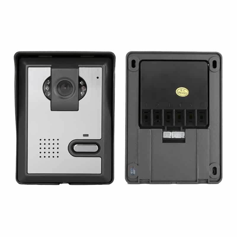 Video Door Phone - Night Vision, Weather Proof, 7 Inch LCD Display, Electronic Unlocking, 700TVL Camera