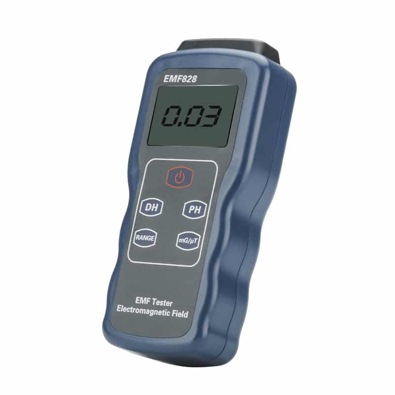 Digital Electromagnetic Field Detector - 0.1 To 4000 Milligauss,  0.01 To 400 Microtesla
