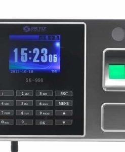 Time Attendance Fingerprint System - 2.8 Inch Color Screen, LAN + USB Ports