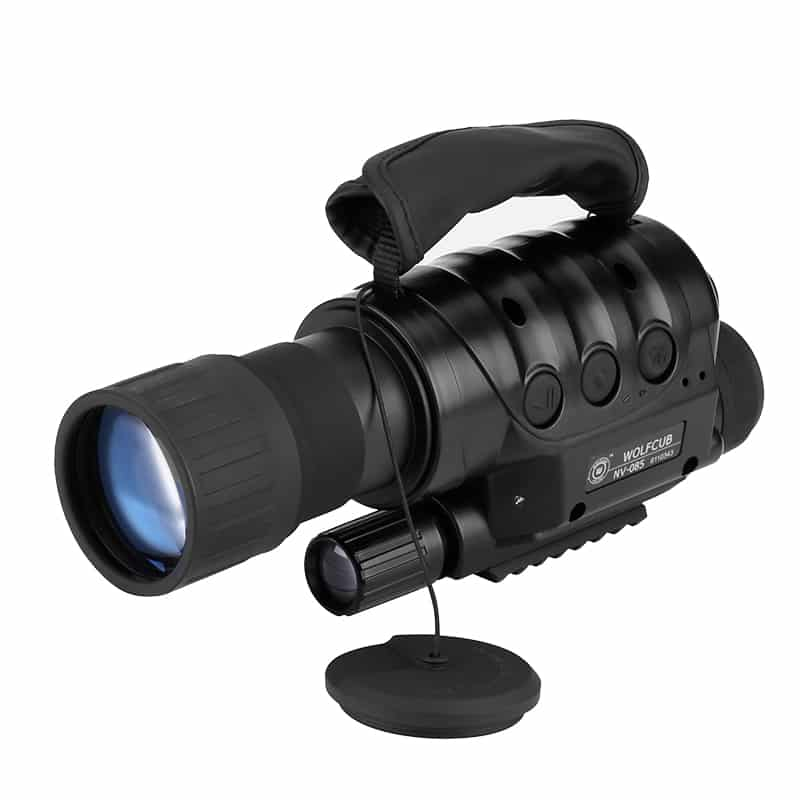 Night Vision Monocular - Built-in Camera, 6x Zoom, 720M Range, 1.3MP CCD Sensor, 16GB Micro SD Slot