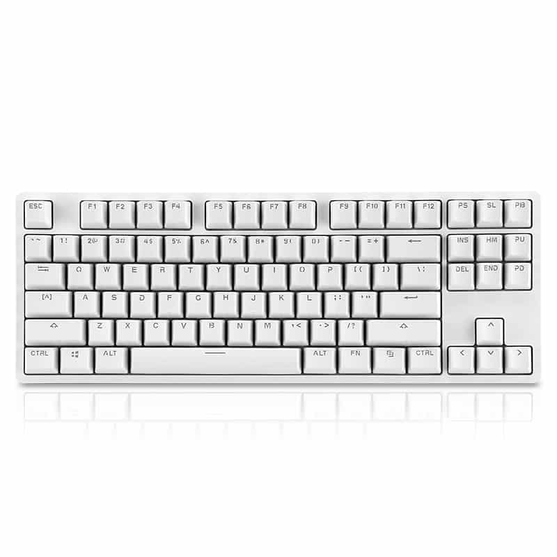 Xiaomi Yuemi K01 Gaming Keyboard - TTC Red Switch, 6 LED Backlight Modes, Adjustable Angle, 87 Keys, Aluminum Body