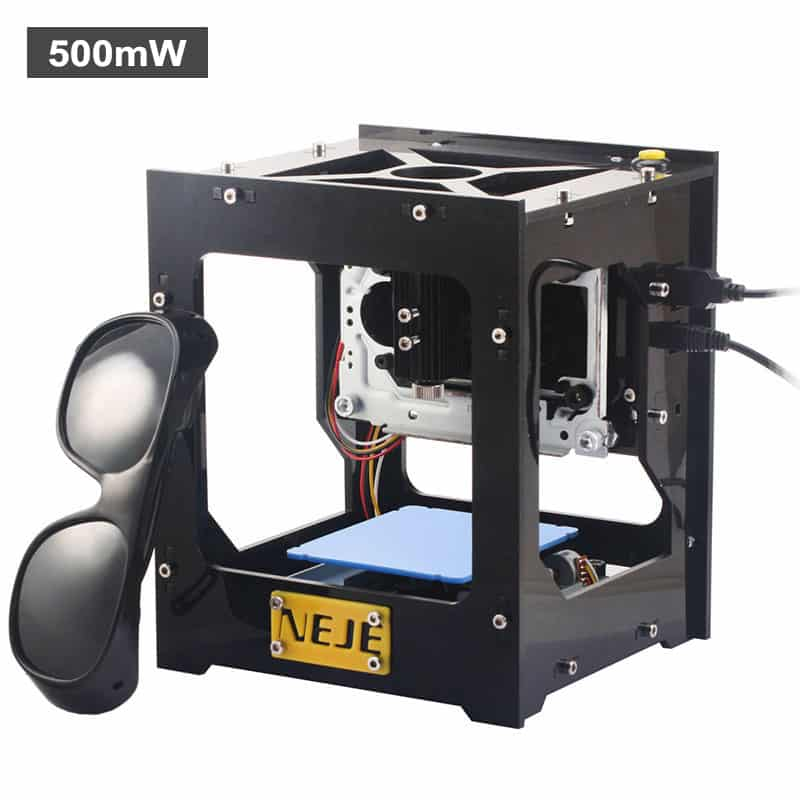 NEJE DK-8 Pro5 High Speed Laser Engraver - 500mW, 512x512 Resolution, Custom Windows Software Included