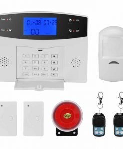Danmini Security Alarm System - GSM, SMS Notifications, 8 Wired Defense Zones + 99 Wireless Defense Zones, 110dB Siren