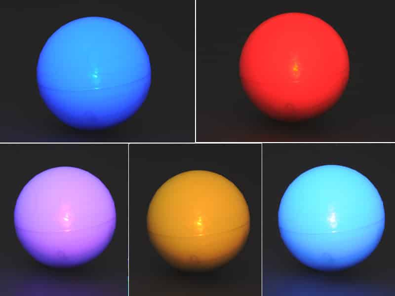 "Robotic RC LED Ball ""Bollo"" - For Android and IOS, Bluetooth Controlled, Gaming System"