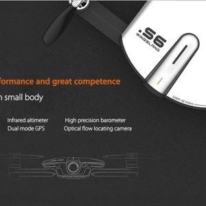Wingsland S6 Premium Drone – Foldable Design, 4 Flight Modes, 4K Camera, Home Return Key, Wi-Fi, FPV (Camouflage) 7