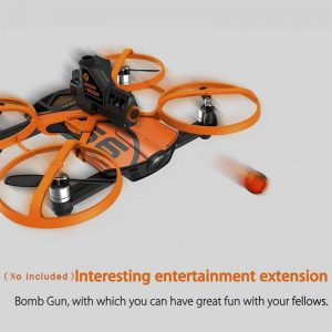 Wingsland S6 Premium Drone – Foldable Design, 4 Flight Modes, 4K Camera, Home Return Key, Wi-Fi, FPV (Camouflage) 5