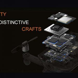 Wingsland S6 Premium Drone – Foldable Design, 4 Flight Modes, 4K Camera, Home Return Key, Wi-Fi, FPV (Camouflage) 8