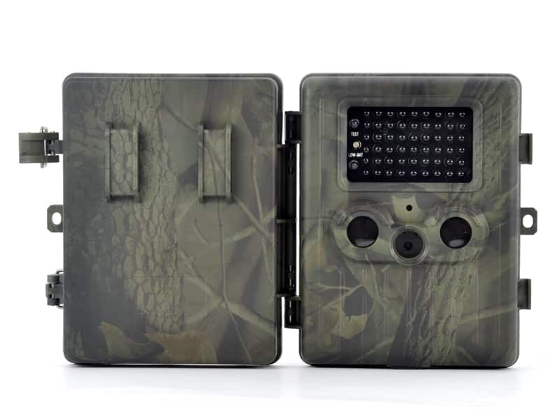 """Game Camera """"Trailview"""" - 1080p HD, PIR Motion Detection, Powerful Night Vision, MMS View, 2.5 Inch Screen, Rechargable Battery"""