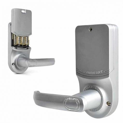 ADEL Fingerprint Door Lock - Store 99 Fingerprints, Pass Code, Key, Auto-Locking