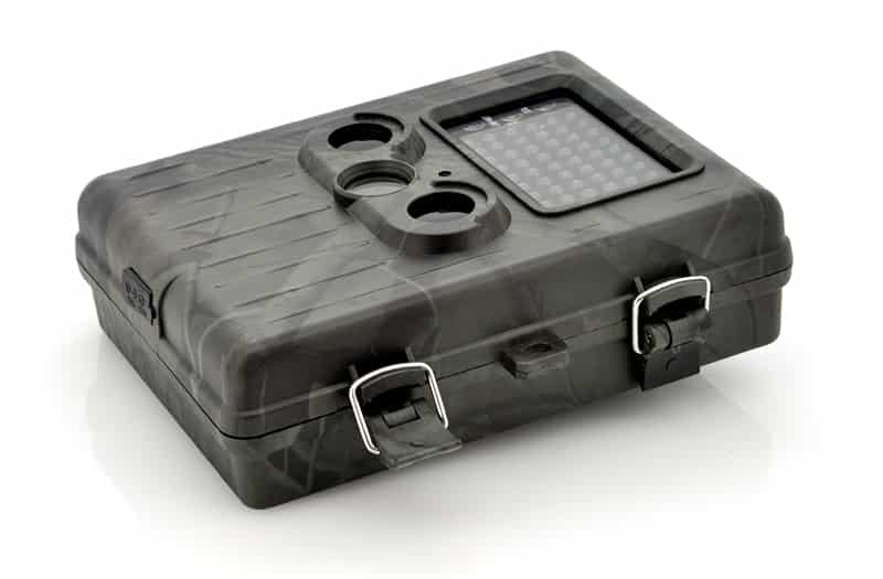 """Game Camera With Rechargeable Battery + Solar Panel """"SolarTrail"""" - 1080p HD video, PIR Motion Detection, MMS View"""