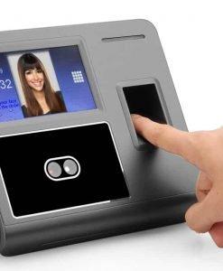 Fingerprint + Facial Recognition Attendance System - 300 Facial + 3000 Fingerprint Templates + 200000 Record Log