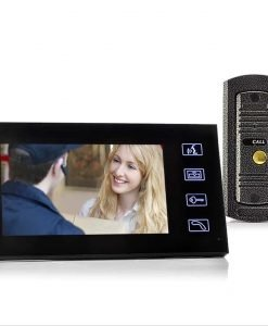 7 Inch Video Door Phone And Camera Set - Night Vision, Vandal Proof