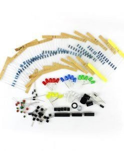 Arduino Starter Kit - High Quality Board UNO R3, 50 Different Parts, 200 Individual Components